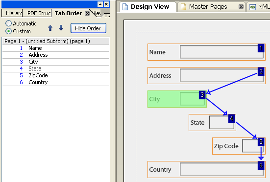 Des82TabOrder-5 Tab Order Gravity Forms on other field conditional logic, checkout page example, file upload, shopping cart, validating against table, carrying over field input, list field, which tables, table view,